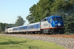 NC 1755 on Amtrak-73