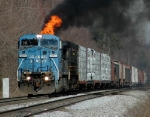 [NS Piedmont Division - Charlotte District - Five Row] NS 8394 leads NS-119