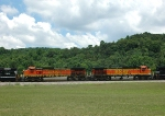 BNSF 4008 and BNSF 4904 on NS-194