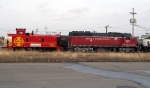 MNA 4004 & GWAX 1999 Christmas Train at Pearl Yard