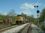 CSX 510 & 538 waiting for a recrew, MP283.4