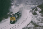 CSX 771 has east bound 396 on the western slope of Sand Patch grade,