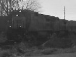 First Black & White photo! CSX 7556 and CSX 7700 switching out cars
