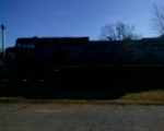 A lil' bit better pic of CSX 7700