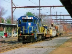 SEPTA Republic Locomotive RL1000 #61 Cantenary Wire Train