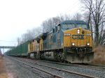CSX 5110 & UP 9505