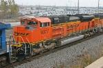 BNSF 9377 on NS 417