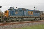 CSX 8707 on CSX Q377-25