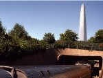 Entering Jefferson Memorial Tunnels