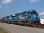 NS 5428 leads a trio of SD50's