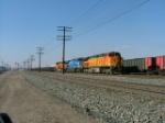 BNSF 5332 + 2 W/Train