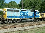 CSX 6140 with wierd tinted paint