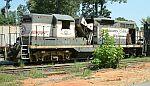 Locomotive cave-in