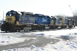 EMD lash up tries to stay warm
