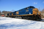 CSX 5428 waits for the Weaverton signal