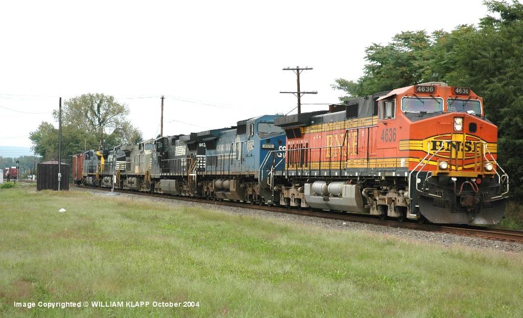 BNSF 4636 NS 13T