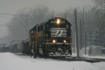 NS 2563 leads 34G in the snow