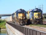 CSX SD40-2 & GP40-2