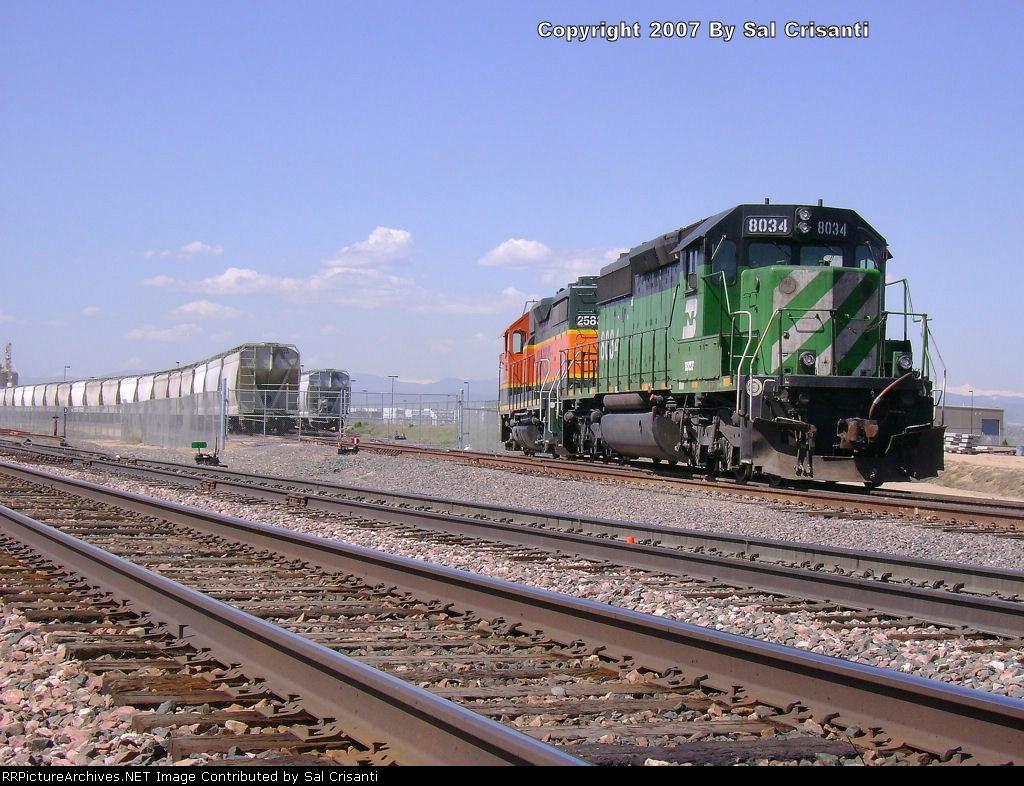BNSF 8034
