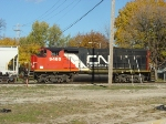 CN 9460 in Norwood Yard