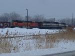BNSF 9376/BN 9625