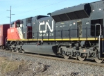 CN 8813 trailing on A452
