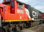 CN/IC 9572 fills the frame