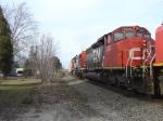 CN 5335 2nd unit on A411