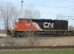 CN 5335 approaching N. Military crossing