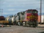 BNSF C44-9W 762 in yard at Pueblo Co