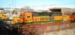 BNSF GP40X