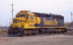 BNSF SD45-2 6465