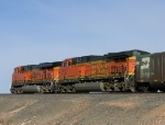 BNSF 5645 and 5812