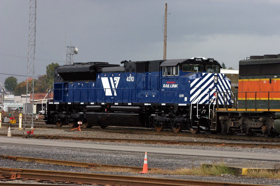 Montana Rail Link SD70ACe #4310