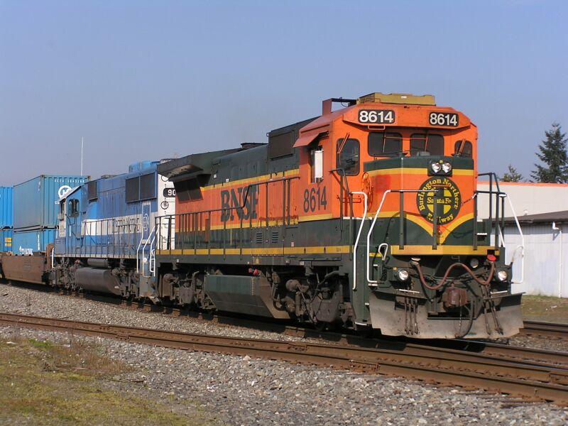 BNSF 8614