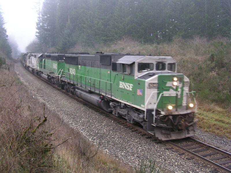 BNSF 9240 East