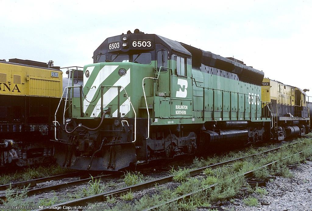 BN SD45 6503