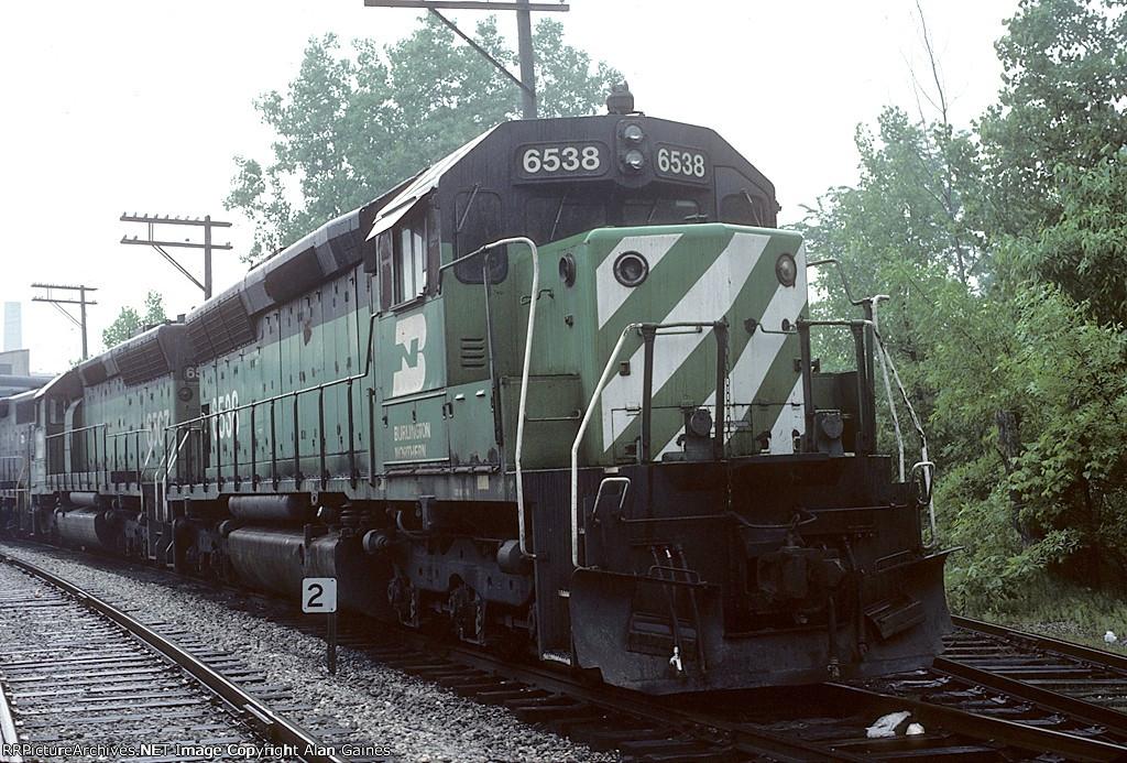BN SD45 6538