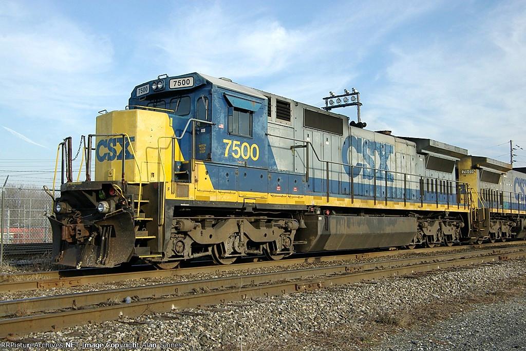 CSX C40-8 7500