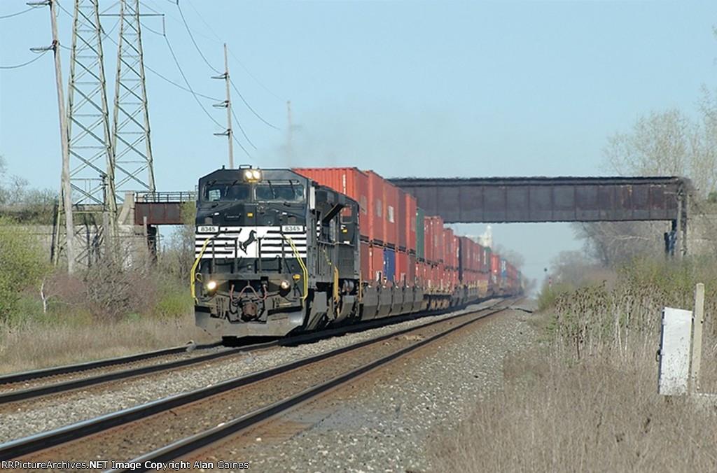 NS C40-8W 8345