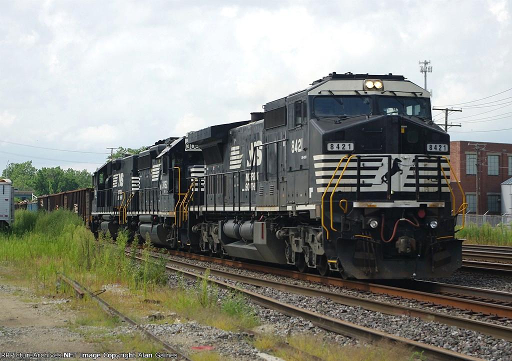 NS C40-8W 8421