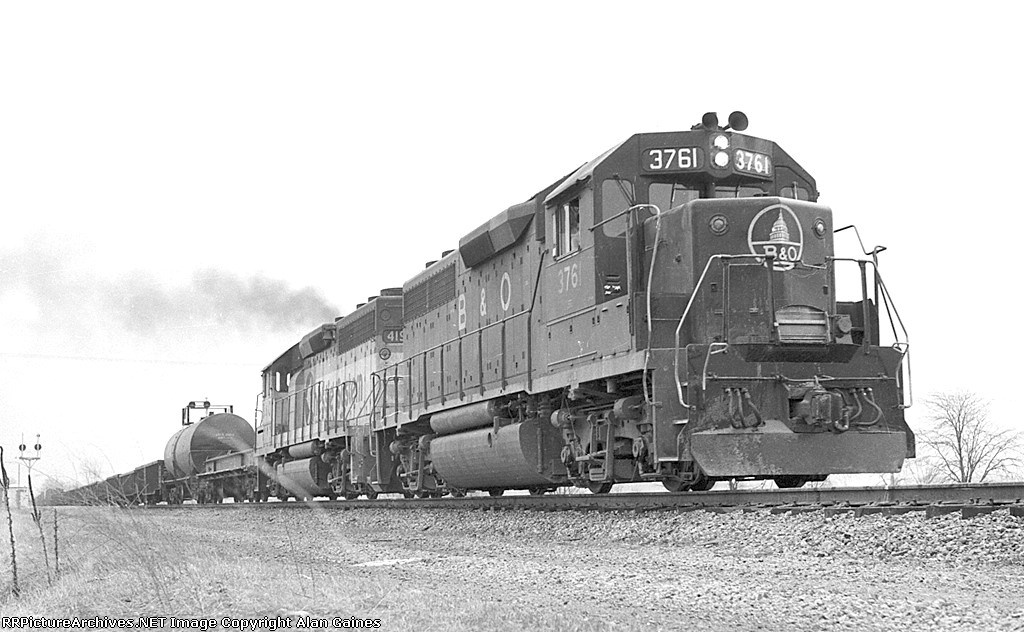 B&O GP-40 3761