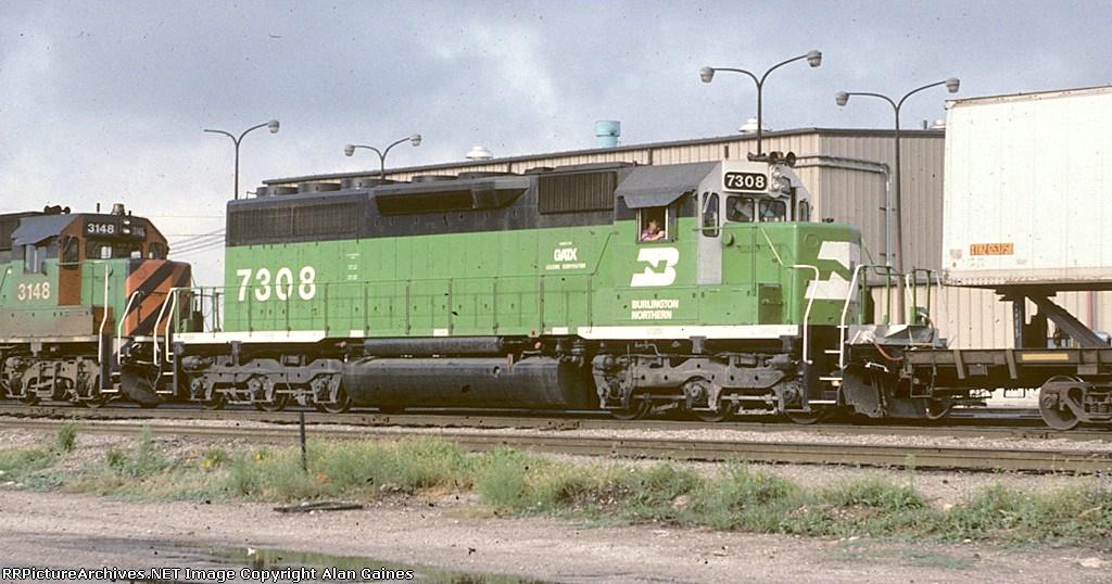 BN SD40G 7308