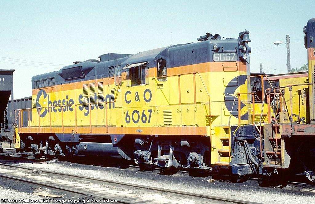 C&O GP-9 6067