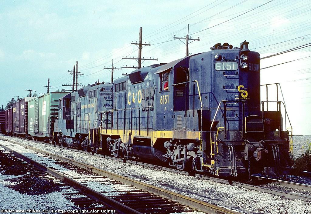 C&O GP-9 6151