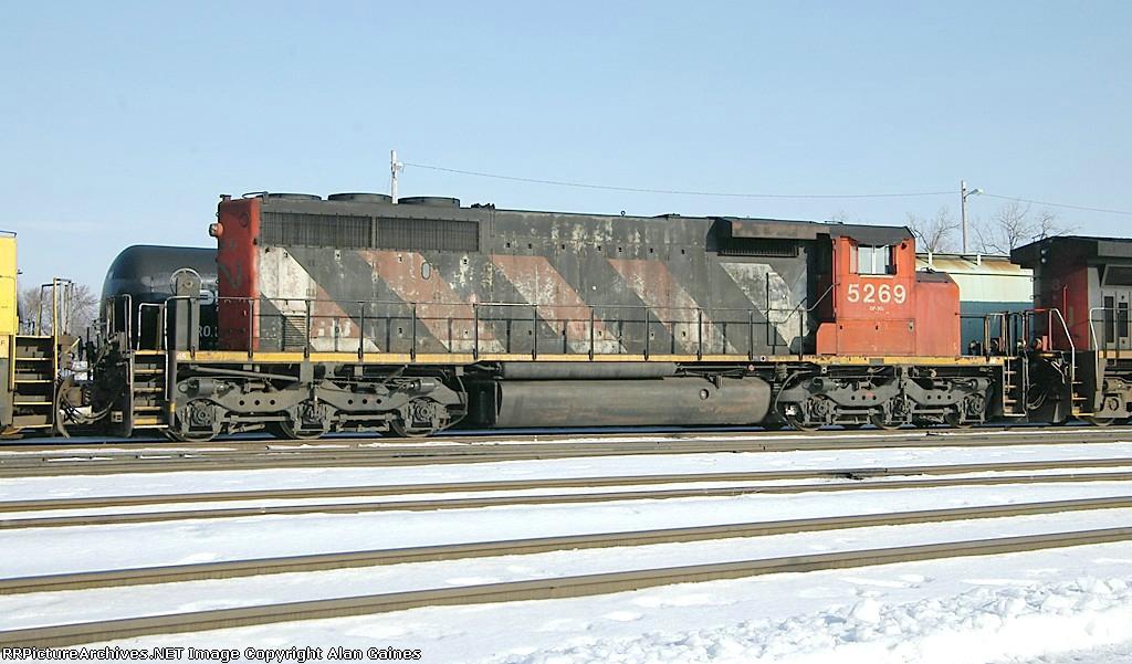 CN SD40-2W 5269