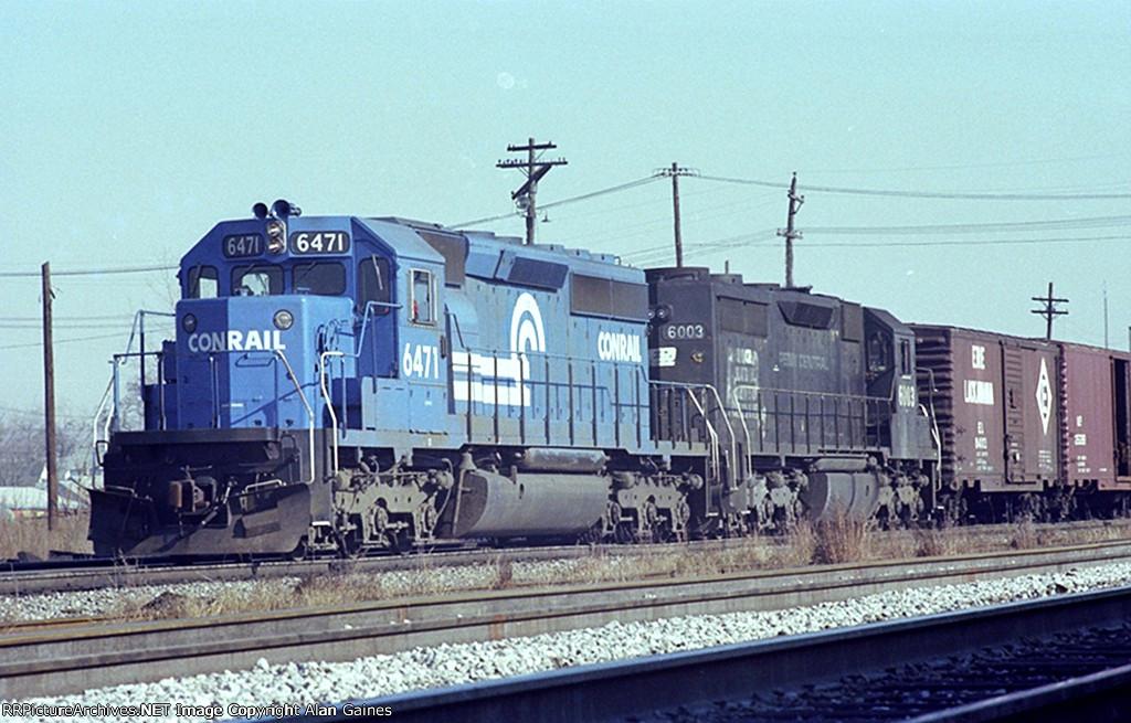 CR SD40-2 6471
