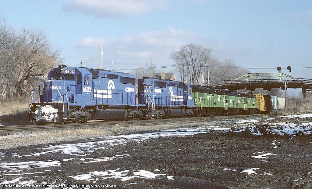 CR SD40-2 6502
