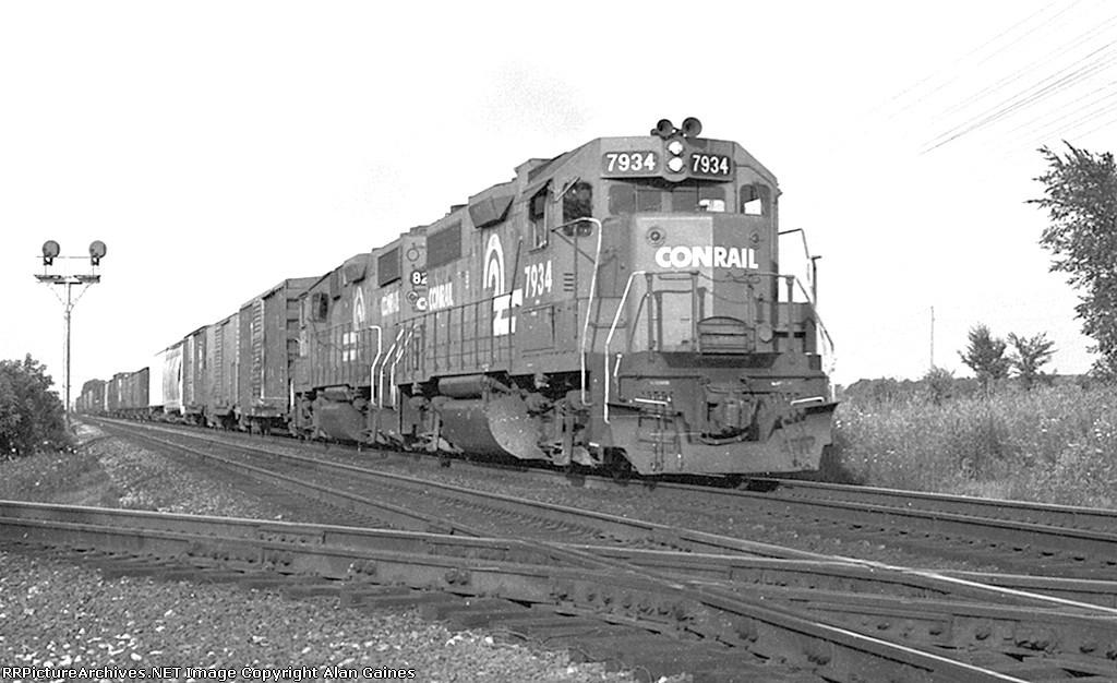 CR GP38 7934