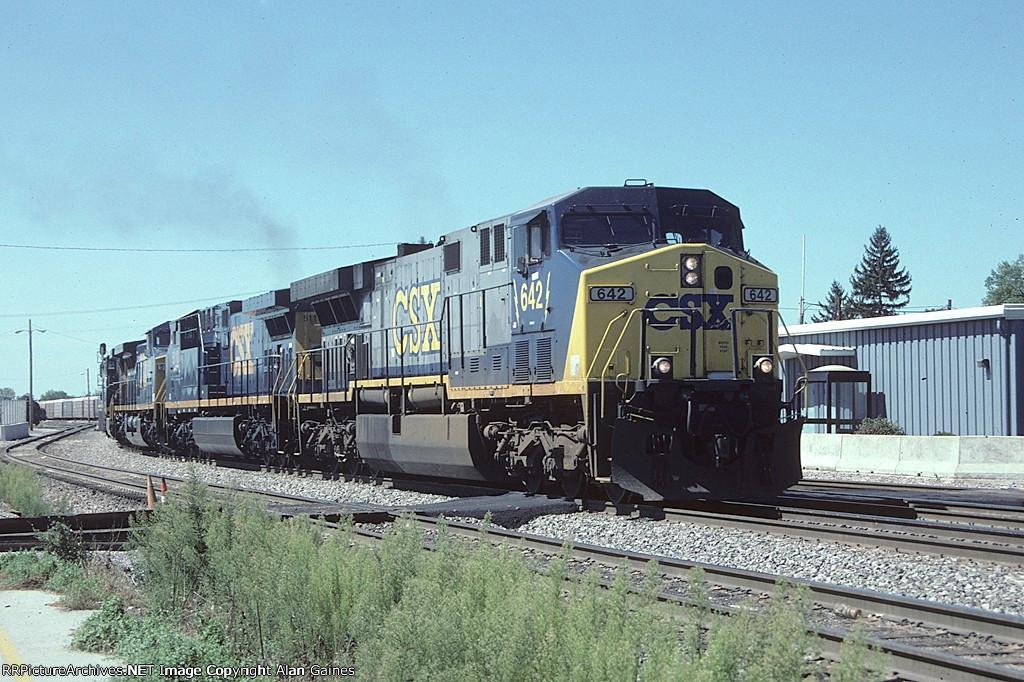 CSX AC6000 642